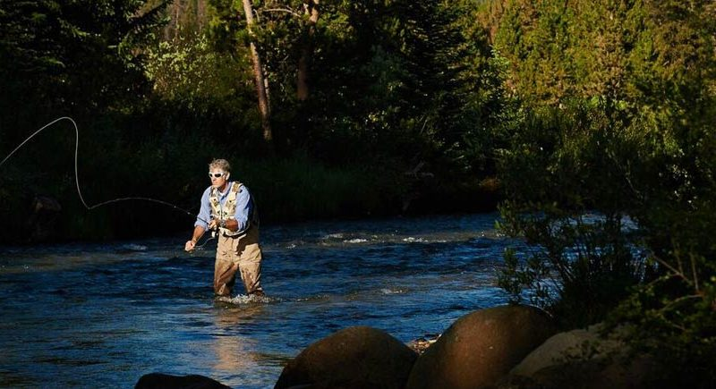 Vail summer activities vail mountain lodging for Fly fishing vail colorado
