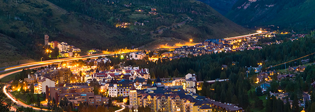 Vail at Night